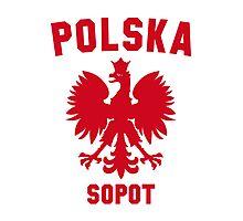 POLSKA SOPOT Photographic Print