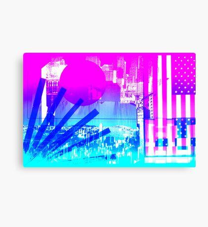 transparent flags Canvas Print