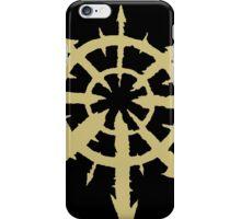 Chaos Symbol iPhone Case/Skin
