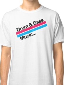 Drum & Bass F2 Classic T-Shirt