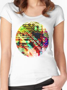 Color circuit Women's Fitted Scoop T-Shirt