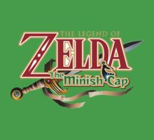 Zelda The Minish Cap Kids Tee