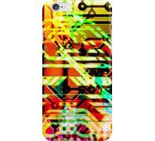 Color circuit iPhone Case/Skin