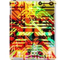 Color circuit iPad Case/Skin