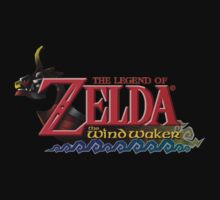 Zelda The Wind waker Kids Tee