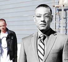Gus Fring @ TV serie Breaking Bad by Gabriel T Toro
