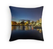 Salthouse Dock - Liverpool Throw Pillow