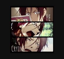 see the crying rin:stay away from the crying rin Unisex T-Shirt