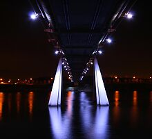 Infinity Bridge over the River Tees UK by albyw