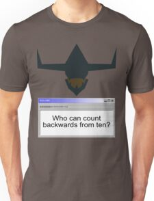 Digimon- Who can count backwards from ten? Unisex T-Shirt