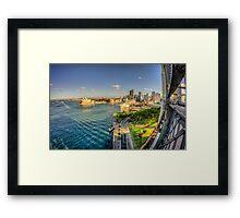 Sydney Harbour & Opera House Framed Print