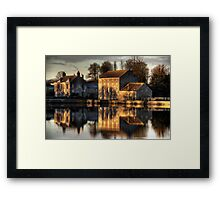 Carew Tidal Mill Framed Print