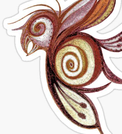 Birderfly Sticker