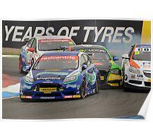 Close Racing Poster