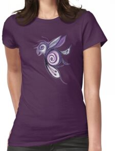 Birderfly - Purple Remix Womens Fitted T-Shirt