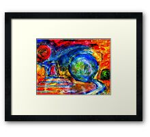 Abstract World. Framed Print