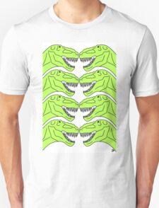 Tyrannosaurus Rex Dinosaur Pattern T-Shirt
