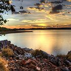 Lake Moondarra by Stephen  Nicholson
