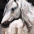 White Horse by Astrid Strahm