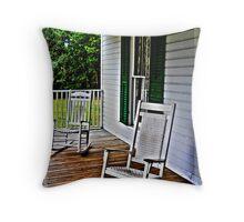 Grandma's Front Porch Throw Pillow