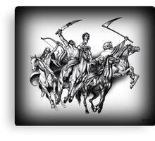 Four Horseman of the Apocalypse Canvas Print