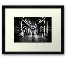 Chicago - CTA Framed Print