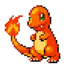 Pokemon - Charmander Sprite by ffiorentini