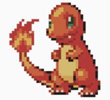 Pokemon - Charmander Sprite Kids Clothes