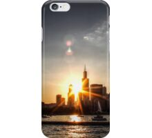 Chicago Skyline - Sunset 2 iPhone Case/Skin