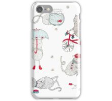 Everyday Cat Life iPhone Case/Skin