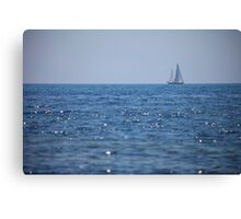 SHIP PROVENCE Canvas Print