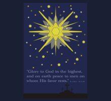 stars & crosses (luke2:14)  front by dedmanshootn
