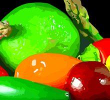 Fruit and Veggies Sticker