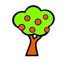 Fruit Tree Photographic Print