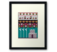 An Old Time Game Framed Print