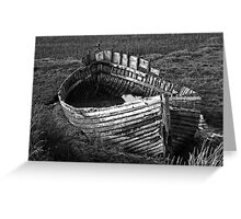 Once we sailed on the endless sea Greeting Card
