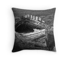 Once we sailed on the endless sea Throw Pillow