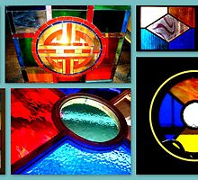 VicTOr Fraser stained glass art by ©The Creative  Minds