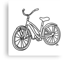Beach Cruiser Bicycle  Metal Print