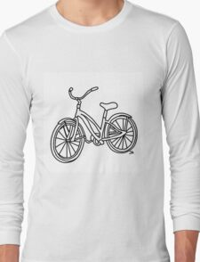 Beach Cruiser Bicycle  Long Sleeve T-Shirt