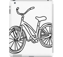 Beach Cruiser Bicycle  iPad Case/Skin