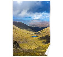 Scafell Pike - Cumbria - Lake District Poster