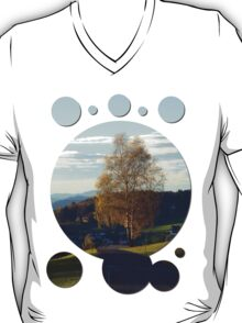 Tree, road and indian summer evening II | landscape photography T-Shirt
