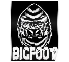 The Face of Bigfoot Poster