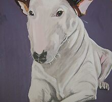 english bull terrier by Ben Carder