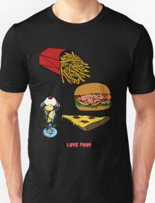 Love Food Unisex T-Shirt