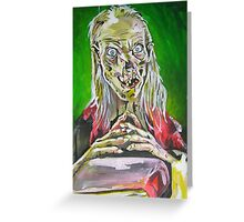 cryptkeeper Greeting Card
