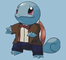Squirtle as the 11th Doctor Kids Clothes