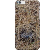 "Real Tree Design for Hunting & Shooting ""Pine Needles"" #1 iPhone Case/Skin"