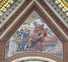 Carrying His Cross by M-EK